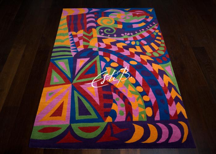 Rock'n'roll rug by Topfloor