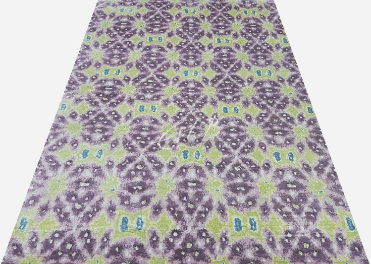 Lavender rug, Kaleidoscope collection