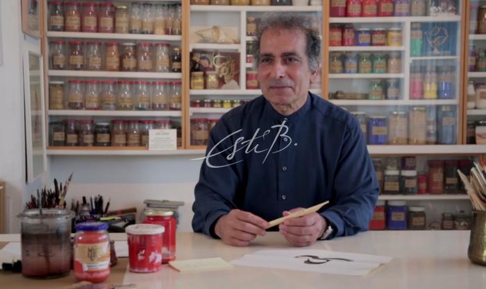 Hassan Massoudy Topfloor SCRIPT collection interview