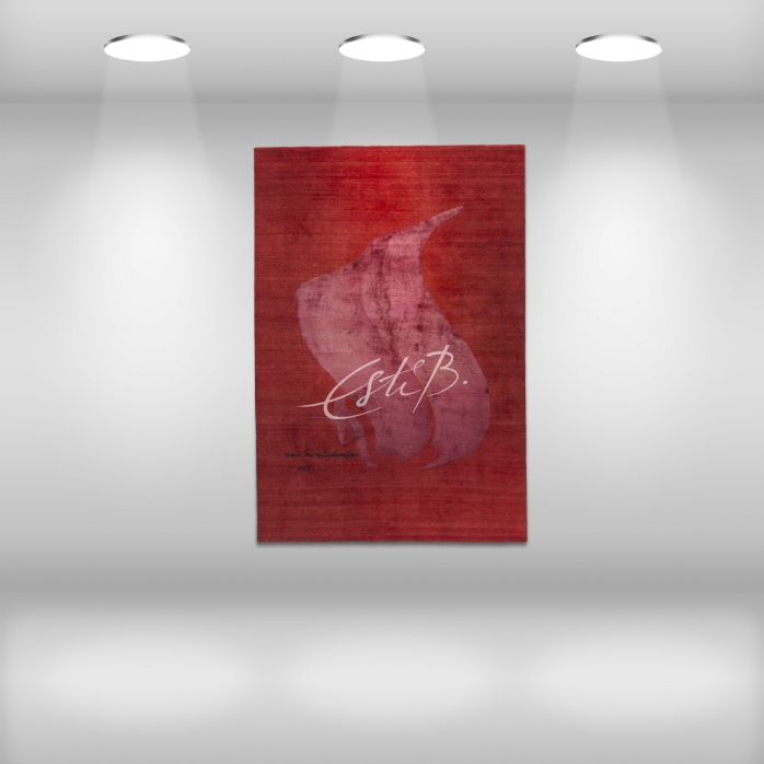 Top floor rugs SCRIPT collection DREAM ON THE WALL