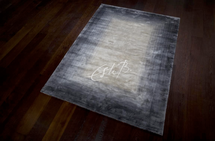 Topfloor blog interview with Esti Barnes. Envelope rug