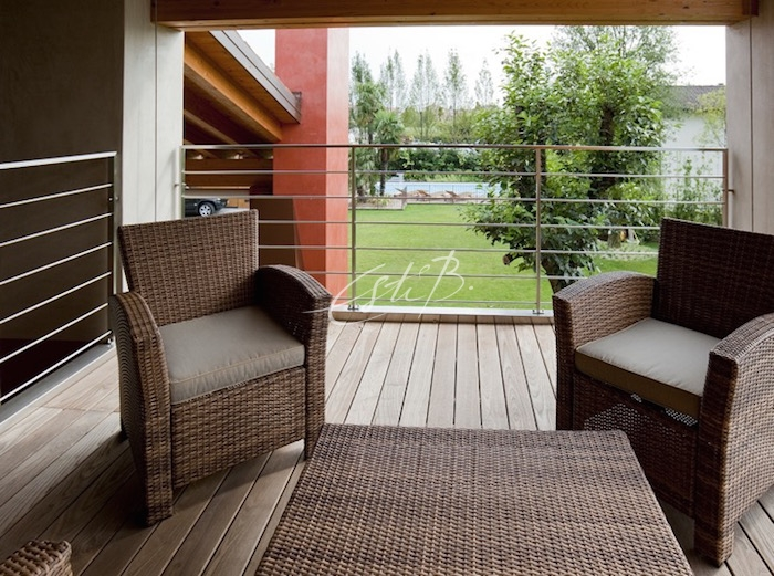 PC5 heat-treated Ash decking