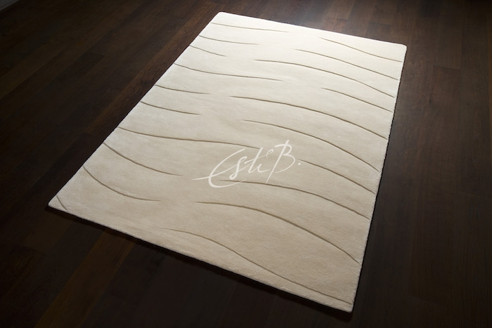 Elastic rug from 3D collection