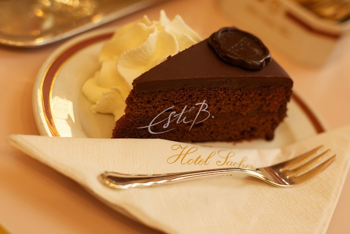 Original Sachertorte at Café Sacher - Photo by Christian Stangier