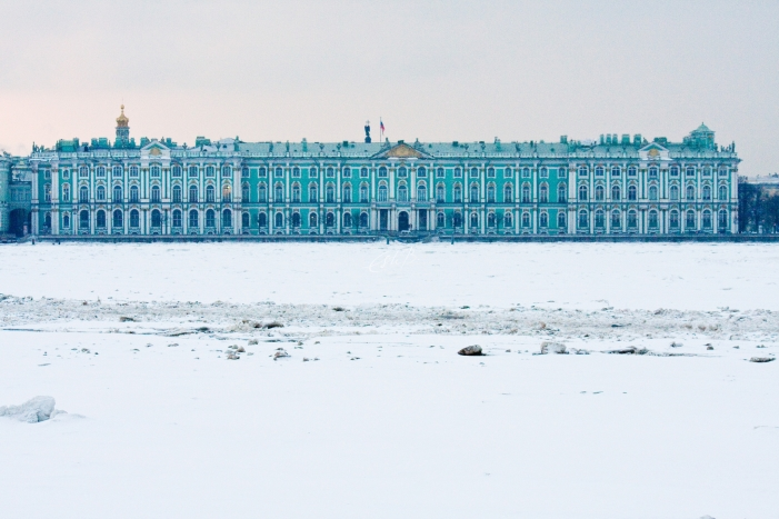 The Winter Palace (part of the State Hermitage Museum) in St Petersburg
