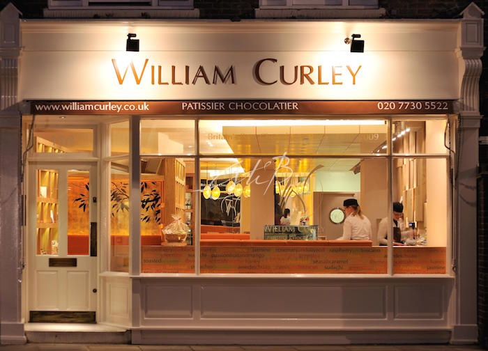 William Curley shop from the exterior, Belgravia