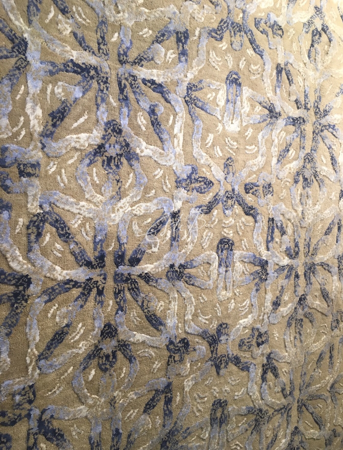 Brocade rug from Kaleidoscope collection