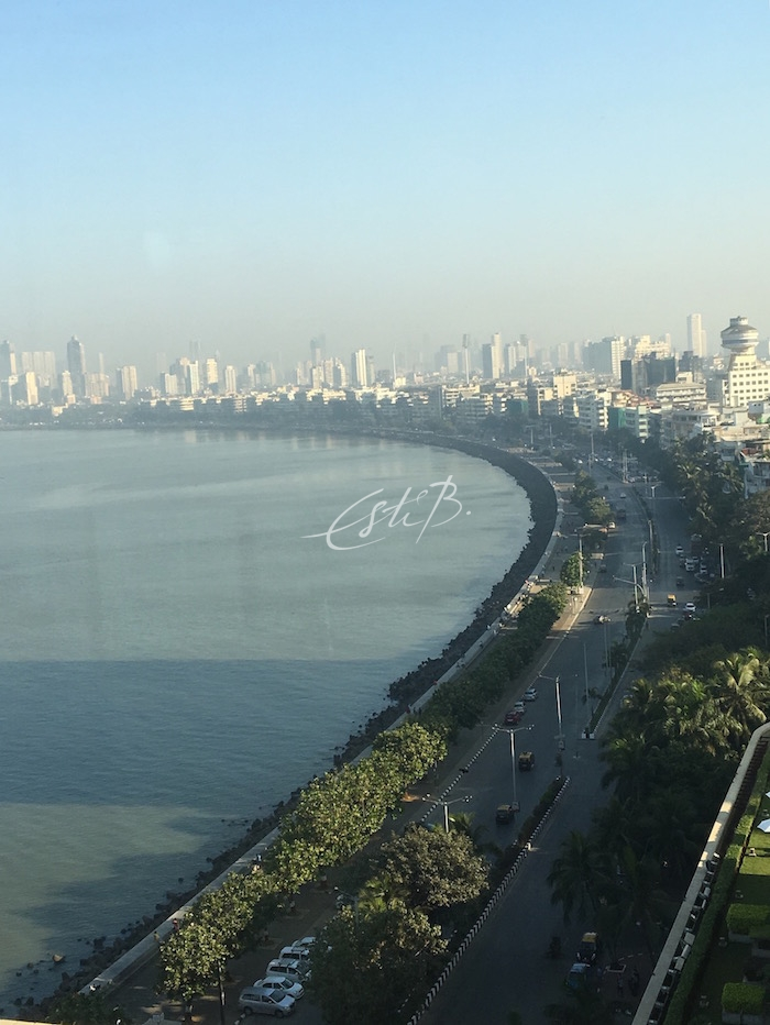 View of Arabian Sea from Oberoi Hotel, Mumbai