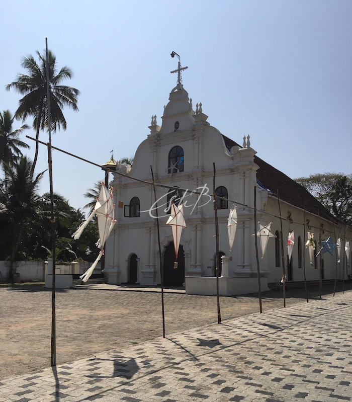 St Francis Church exterior, Fort Kochi
