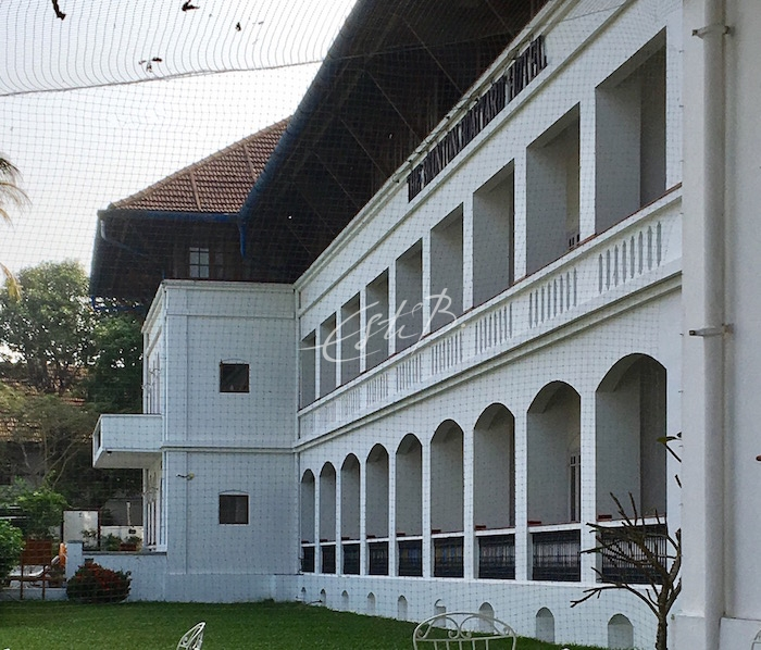 The Brunton Boatyard hotel exterior, Fort Kochi
