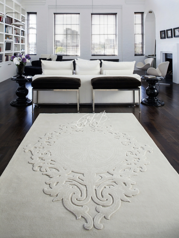 Emprise rug in sitting room