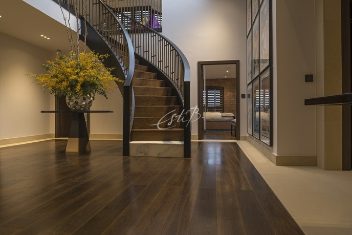 Private Residence, Liverpool featuring PRIME DARK SMOKED OAK