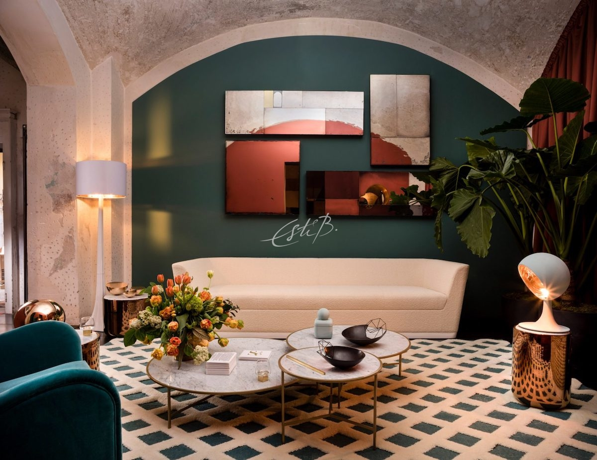 Sé Installed The Four Room Show Apartment At Spazio Rossana Orlandi
